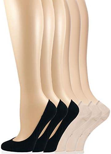 FelinaWomen/'s Bamboo Crew Socks3-Pack