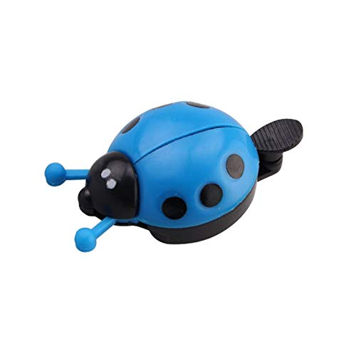 3 PCS Bicycle Bell Anning Beetle Dibujos Animados Ciclismo Bell Bell Kids Ladybug Bell Anillo para Bike Ride Horn Bicycle Accesorios Timbre De Bicicleta (Color : Blue)