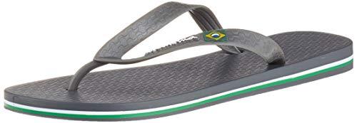 Ipanema CLAS Brasil II Ad, Chanclas Hombre, Multicolor (Dark Grey/Grey 8722), 47/48 EU