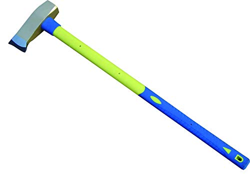 DWT-GERMANY 101460 3000g Spaltaxt Spalten Eintreiben Keilen Spalthammer Axt Hammer Fiberglas