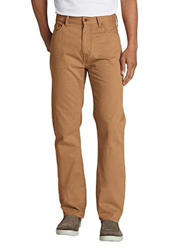 Eddie Bauer Legend Wash Five-Pocket-Hose Pantalones, Marrn (Messing Messing), 40W x 34L para Hombre