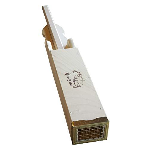 伊豆河童 ところてん突き 大 木製 真鍮刃 手づくり 突き棒