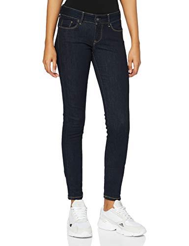 Pepe Jeans Soho Jeans, Blu Rinse, 29W / 28L Donna