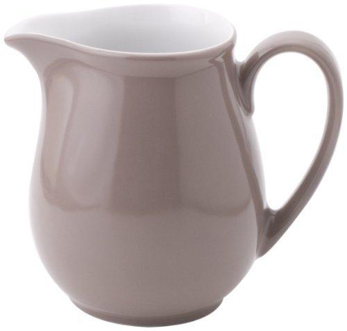 Kahla 0,5L Krug Pronto aus Porzellan Dekor: Taupe
