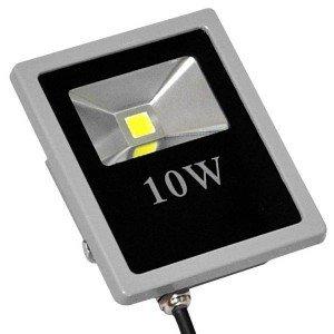 Faro led SLIM faretto IP66 alta luminosita' luce bianca fredda 10W 20W 30W 50W 80W 100W 200W (10 Watts)