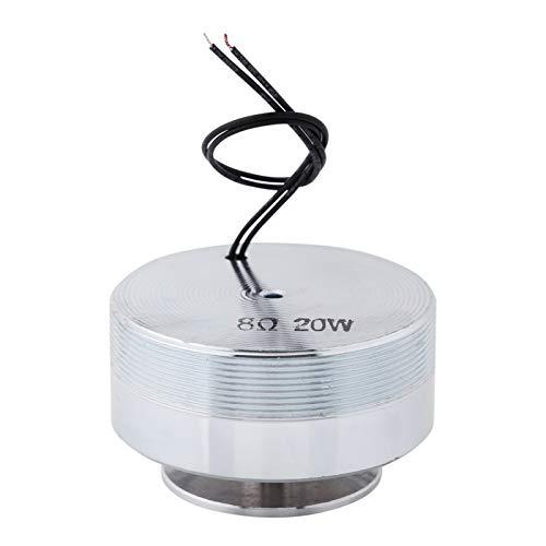 Bass Vibration Lautsprecher Elektrodynamischer Vibration Lautsprecher Runde Form für Mobiltelefon(8Ω 20W)