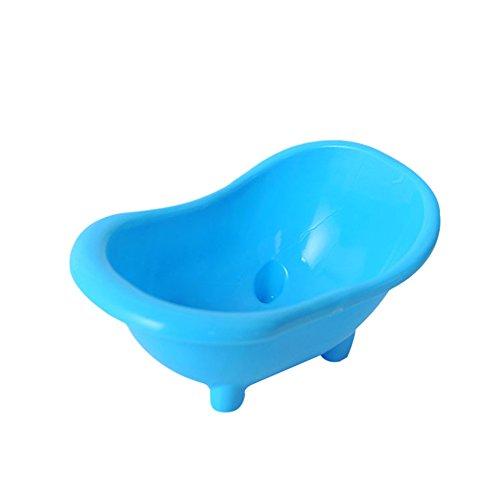 tianxiangjjeu Huisdier Badkuip Plastic Mini Hamster Gerbils Bad Badkamer Baden Toilet, Willekeurige kleur