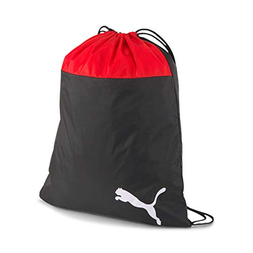 PUMA teamGOAL 23 Gym Sack Bolsa De Cuerdas, Unisex-Adult, Red Black, OSFA