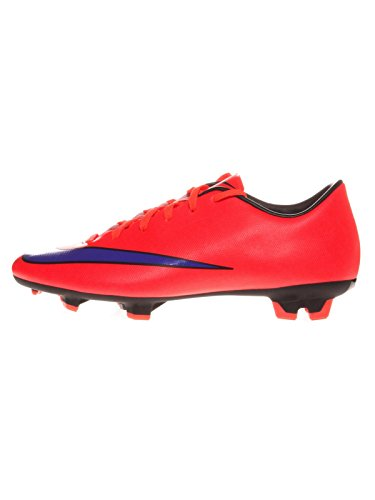 Nike Mercurial Victory V FG - Zapatillas de fútbol para Hombre, Rojo (bright crimson/prsn violet-blk 650), 40 EU / 7 US