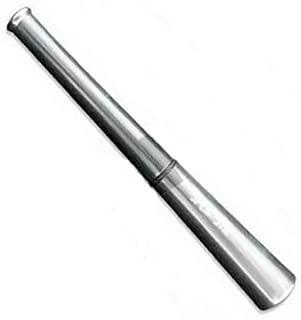 Pipa enfriadora de aluminio anodizado Red-Eye's Splif Stick - Gris (105mm)