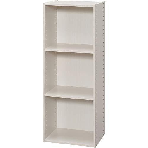 アイリスオーヤマ カラーボックス パーフェクトボックス オフホワイト 幅36.6×奥行29×高さ98cm