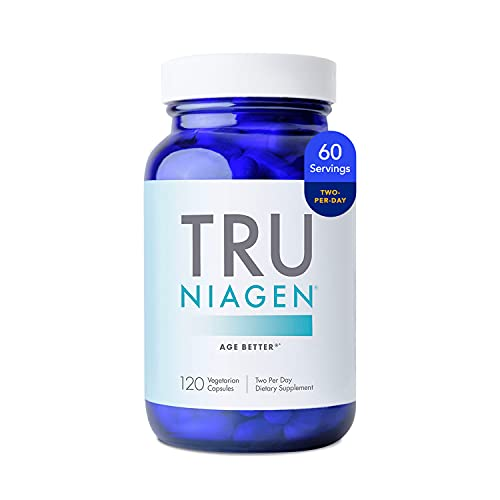 Patented NAD+ Booster Supplement More Efficient Than NMN - Nicotinamide Riboside for Cellular Energy Metabolism & Repair. Vitality, Muscle Health, Healthy Aging - 120ct - 150mg (2 Months / 1 Bottle)