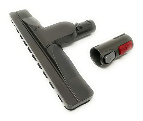 Boquilla flexible para parqué, cepillo de parqué compatible con aspiradoras Dyson (con adaptador para Big Ball, Big Ball 2, CY22 CY23)