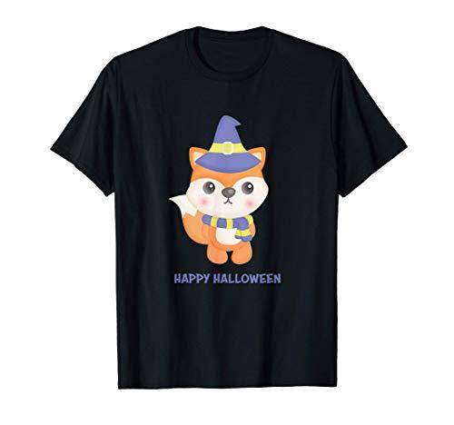 Lindo bebé zorro Divertido disfraz de Halloween de última ho Camiseta