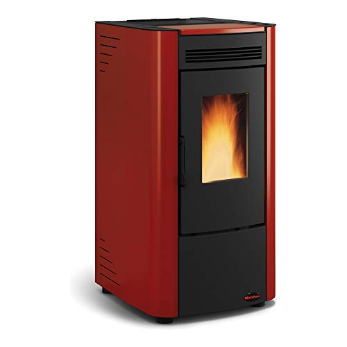 La Nordica - Extraflame pelletkachel Ketty (6 kW) Metall Bordeaux