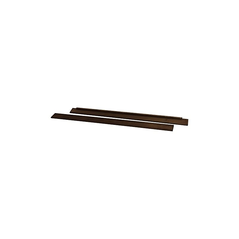 crib bedding and baby bedding full size conversion kit bed rails for nursery smart's darby crib (espresso)