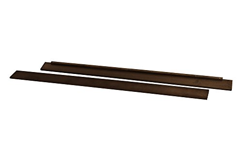Full Size Conversion Kit Bed Rails for Davinci Carter's Cribs - (Espresso)