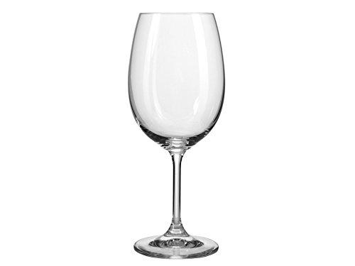 Galileo Casa Lara Set 6 Bicchieri da Vino, 6.5x6.5x20 cm, 6 unità