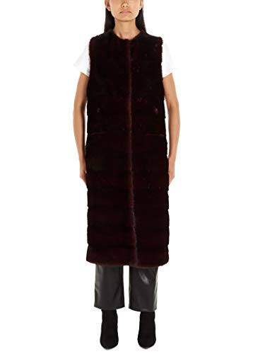Luxury Fashion | Simonetta Ravizza Dames TANIA1556RMAGENTA Bordeaux Andere Materialen Gilets | Herfst-winter 19