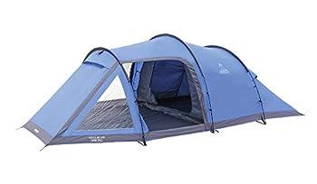 Vango Venture 450 Tente de tunnel extérieure disponible en bleu - 4 personnes
