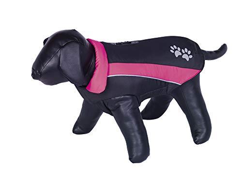 Nobby 65297 Hundemantel SABI schwarz-pink, 32 cm