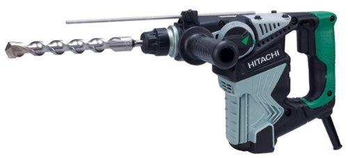 Hitachi DH28PC 720W 1050RPM SDS Plus Rotary Hammer–Bohrhammer (Black, Green, Silver, 3.5kg, 102mm, 316mm, 208mm, 390mm)