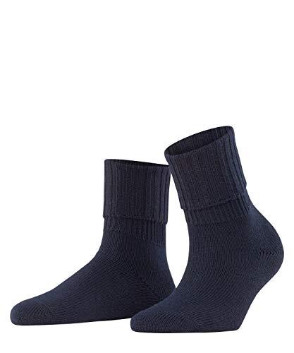 FALKE Damen Rib W SO Socken 1 Paar, Blau (Dark Navy 6379), 39-42