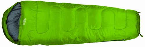 Highlander - Saco de dormir infantil Sleepline 300 Mummy Junior, color amarillo limón, tamaño único, SB039J-LM-01
