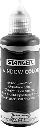 Stanger 300016 WC 80ml Kontur schwarz 1 Fl/VK