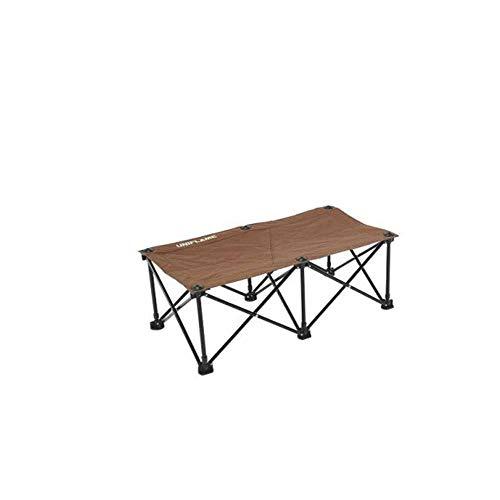 [ユニフレーム] キャンプ チェア リラックスベンチ ブラウン×ブラック 680315