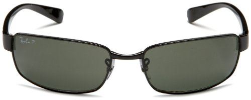 Fashion Shopping Ray-Ban Rb3364 Rectangular Metal Sunglasses