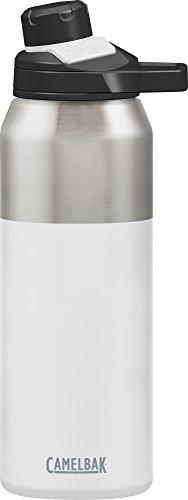 Camelbak Trinkflasche CHUTE Mag Vakuum Edelstahl isoliertechnologie Wasser Flasche, weiß (White), 32oz