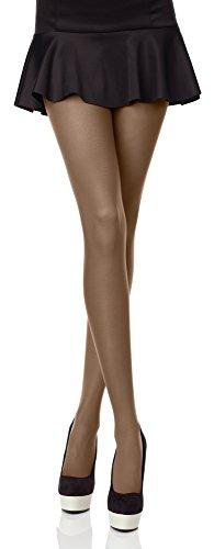 Merry Style Bunte Damen Strumpfhose Microfaser 40 DEN (Avana, 4 (40-44))