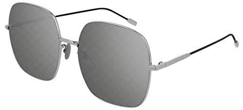 Occhiali da Sole Bottega Veneta BV0202S Silver/Grey 58/18/140 donna