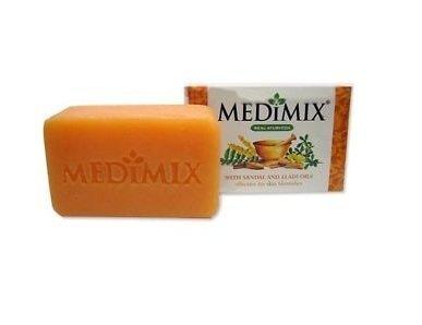 Medimix Soap With Sandal And Eladi Oils Effective For Skin Blemishes 75 gm by Medimix