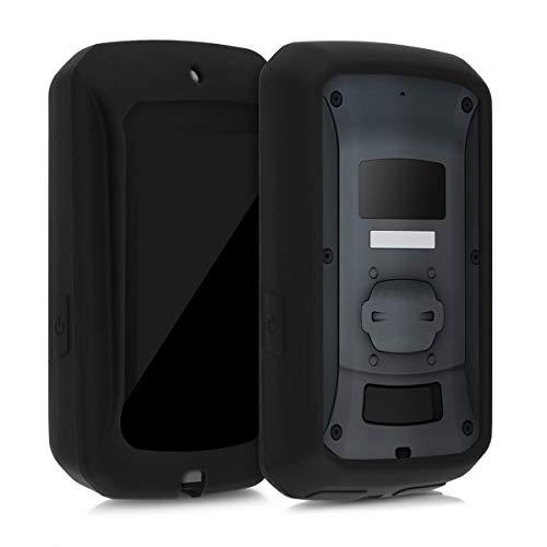 kwmobile Funda Compatible con Bryton Rider 860 - Carcasa de Silicona para GPS - Cover en Neg