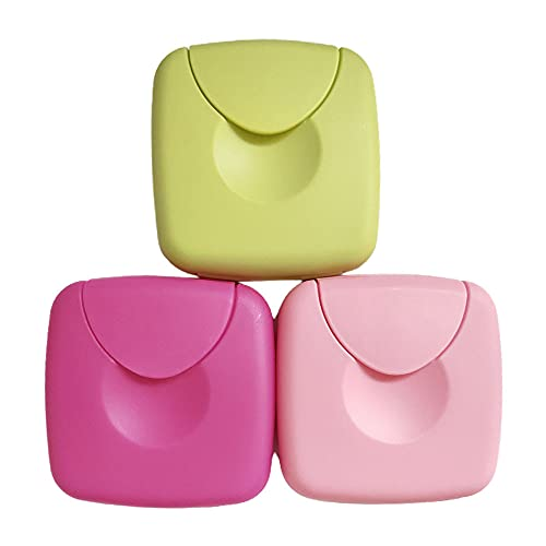 2 pezzi scatola portaoggetti per assorbenti interni 7 * 7 * 2 cm durevole portatile da viaggio portaoggetti da esterno per donne attrezzatura sanitaria