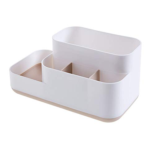 Kosmetikfach Aufbewahrungsbox Tisch Briefpapier Finishing Box Schminktisch Hautpflege Desktop Racks Miyabitors (Color : B)