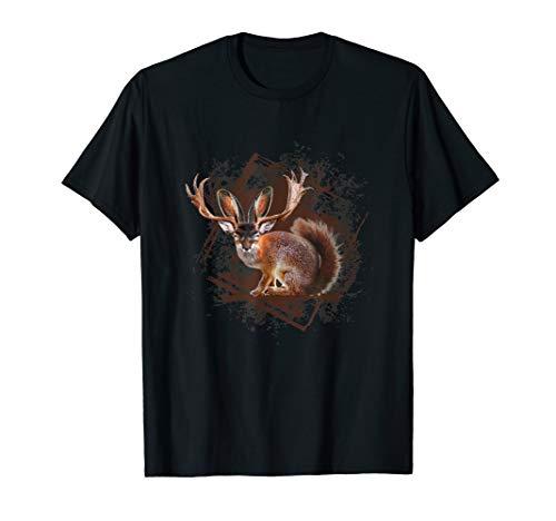 Cooles T-Shirt fürs Oktoberfest mit einem Wolpertinger