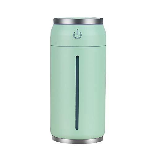 WEKNOWU Mini Umidificatore, Umidificatori USB a Nebbia Portatile con Luce Notturna a 7 Colori per Home Office Car