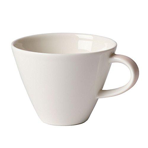 Villeroy & Boch Caffè Club Uni Pearl Tasse à café, 220 ml, Porcelaine Premium, Blanc/Rose