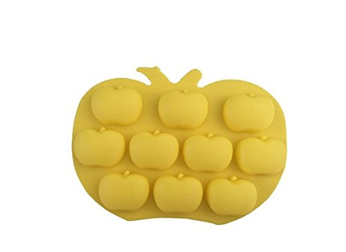 Demarkt 3D Apple Shape Silicone Cake Moulds for DIY Making Chocolate Baking Mold Cake Decoration Cookie Sugar Jelly Fondant Making Tools
