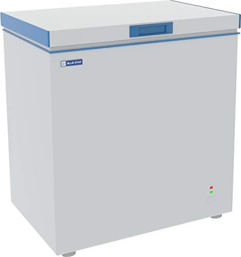 Blue Star CHF150 Single Door Deep Freezer (141 Ltrs, White)