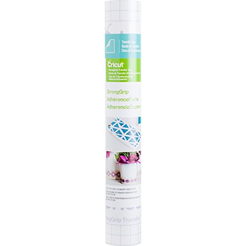 Cricut VINYL STRONG GRIP TRANSFER TAPE 12X48, 12x48-Inches, Clear