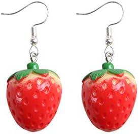 Fashion Creative Lifelike Fruit Earrings for Women Girls Acrylic Drop Dangle Earrings Holiday product image