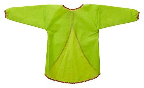Måla-Kinderkittel mit langen Ärmeln, Grün