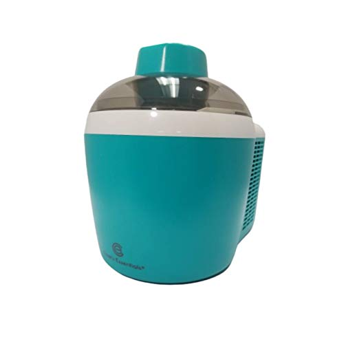 Homemade Ice Cream and Yogurt Maker | Thermo Electric 1.5Pint | Self-Freezing System | Mix Up Frozen Cocktails or Slushies | Powerful 90W Motor Machine | Assorted Bright Colors Turquoise(K45559191000)