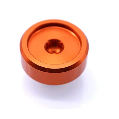QAZWSX Couvercle De Remplissage D'huile pour Moto Boulon De Capuchon pour Yamaha MT-09 FZ-09 FJ-09 MT-03 XSR900 TMAX 530 TMAX 500,Orange
