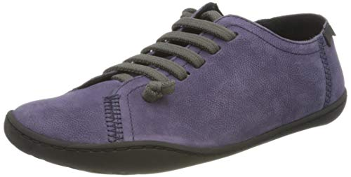 CAMPER Womens Peu Sneaker, Dark Purple, 38 EU