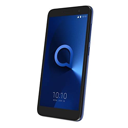 Alcatel 1 Smartphone débloqué LTE (Ecran : 5,0 Pouces - 8 Go - Nano-SIM - Android) Bleu métallisé